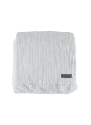 Penelope Soflin Müslin Yatak Örtüsü 160x240 Beyaz